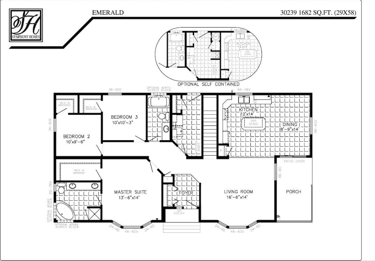 symphony homes floor plans symphony homes floor plans
